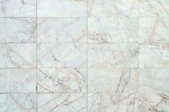 大理石瓦片墙壁纹理 免版税图库摄影
