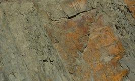 大理石的表面与棕色色彩的 库存图片