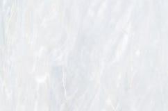 大理石的表面与白色色彩的 库存照片