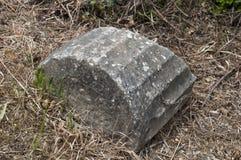 大理石破坏列 库存照片