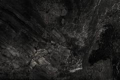 黑大理石纹理和背景豪华  免版税图库摄影