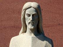 大理石耶稣 库存图片