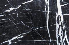 大理石背景在黑白的 免版税库存图片