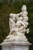 大理石象在凡尔赛宫公园  库存图片