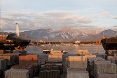 大理石运输 图库摄影