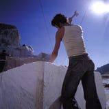 大理石雕塑 图库摄影