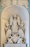 大理石雕塑 免版税库存照片