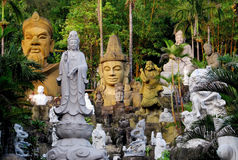 大理石雕刻岘港市,越南 库存照片