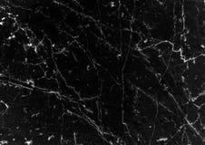 黑大理石仿造了纹理背景,从自然的详细的真正大理石 免版税库存图片