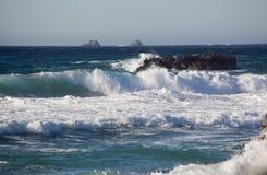 大瑟尔加利福尼亚海岸 免版税图库摄影