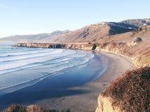 大瑟尔海岸在加利福尼亚 免版税库存图片