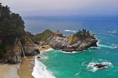 大瑟尔,加利福尼亚,美利坚合众国,美国 免版税库存图片