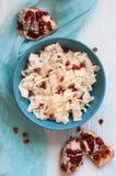 从大白菜的饮食沙拉 库存图片