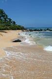 大的海滩 库存照片