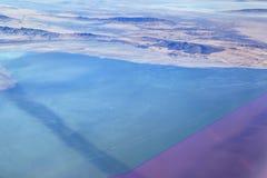 大盐湖,犹他 库存图片