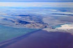 大盐湖,犹他 免版税库存图片