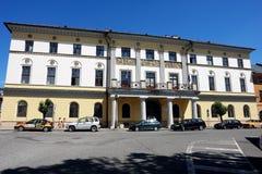 大省房子在Levoca镇 库存图片