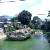 大石头在河 库存照片