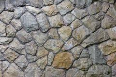 大石头特写镜头墙壁  免版税库存图片