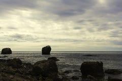 大石头在海 库存照片