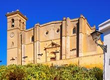 大砂牧师会主持的教堂和修道院  库存图片
