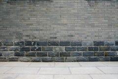 大砖石头纹理 免版税库存照片