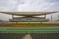 大空的体育场 库存照片