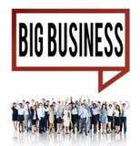 大笔生意竞争资本主义公司概念 免版税库存照片