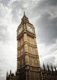 大笨钟在伦敦在英国 库存图片