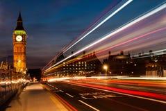 大笨钟在伦敦 免版税库存照片