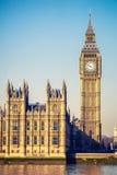 大笨钟塔在伦敦 免版税库存图片