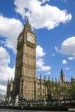大笨钟钟楼威斯敏斯特伦敦 图库摄影