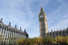 大笨钟-伦敦 免版税库存照片