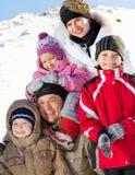 大系列在冬天 免版税库存照片