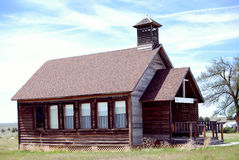 大约西部早的s的1900个美国人大厦 免版税库存图片