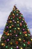 大结构树xmas 免版税库存照片
