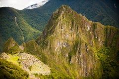 大美丽的山 库存图片