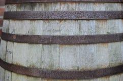 大老葡萄酒桶 库存图片