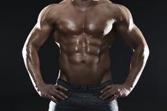 大肌肉 免版税库存照片