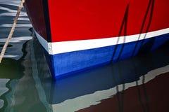 大胆的船舶线 库存照片