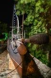 大胆的驱逐舰瓦尔纳海军博物馆保加利亚 库存照片
