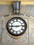 大艺术装饰时钟 库存照片