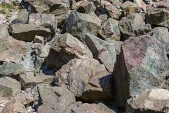 大花岗岩石头 免版税库存照片