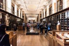 大英博物馆启示室 图库摄影