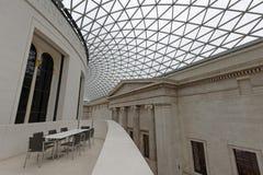 大英博物馆图书馆 免版税图库摄影