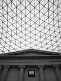 大英博物馆在伦敦。 免版税库存照片