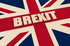 大英国和欧盟关系 库存照片
