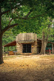 大草原树丛战场国家公园 免版税库存照片