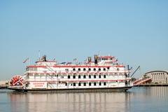 大草原河船游览的乔治亚女王/王后 免版税库存照片
