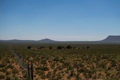 大草原风景,自由州,南非 免版税库存图片